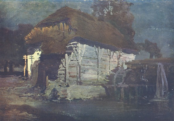 Image - Ivan Trush: A Mill at Night.