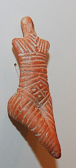 Image - Trypilian culture: Goddess of fertility figurine.