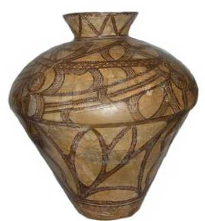 Image - Trypilian culture: ornamental clay pot.