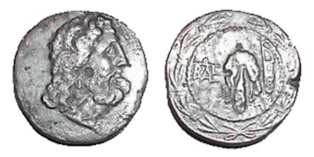 Image - Coins minted in the ancient city of Tyras (in the collection of Odesa Numismatics Museum).