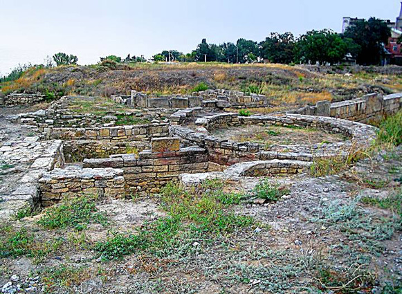 Image - The ruins of Tyras (today's Bilhorod-Dnistrovskyi).