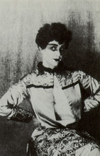 Image - Nadiia Tytarenko as Ryta in Les Kurbas' production of Mykola Kulish's Myna Mazailo (Berezil, 1929).
