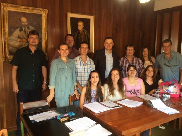 Image - The office of the Ukrainian Central Representation in Argentina.