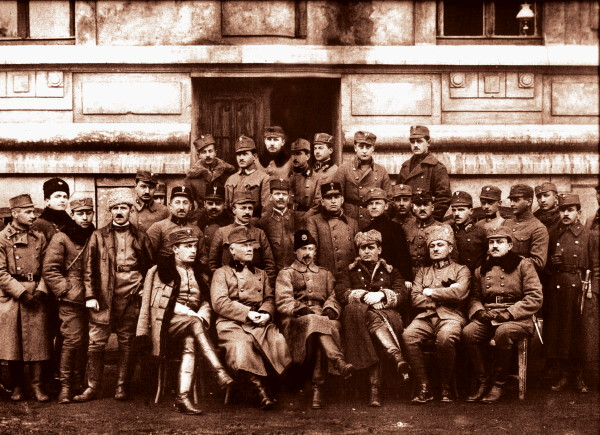 Image - The Supreme Command  of the Ukrainian Galician Army (February 1919).