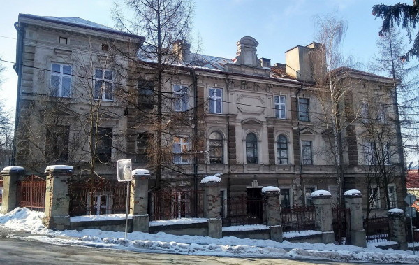 Image - The building of the Ukrainian Girls' Institute in Peremyshl.