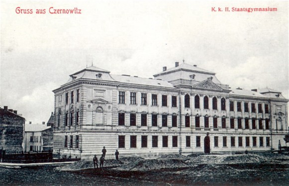 Image - The Ukrainian Gymnasium in Chernivtsi (early 20th century).