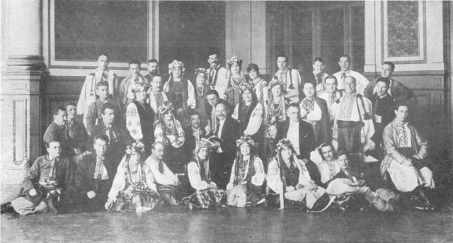 Image - The Ukrainian National Choir (Argentina June 1923).