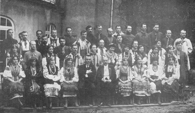 Image - The Ukrainian National Choir (Belgium March 1921).