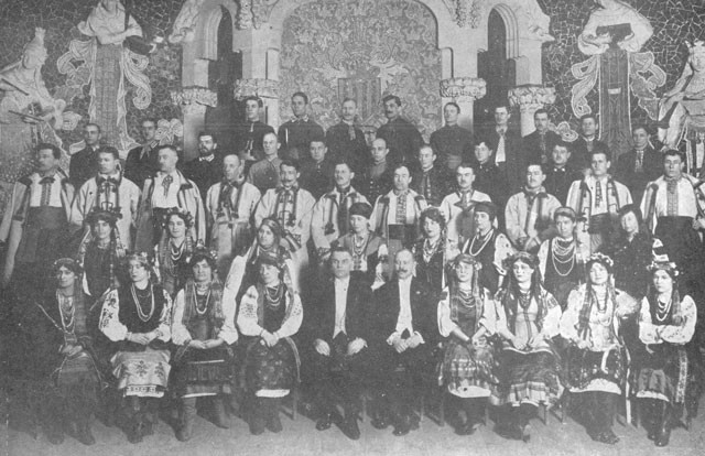 Image - The Ukrainian National Choir (Spain January 1921).
