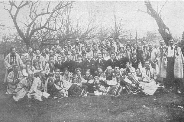 Image - The Ukrainian Republican Kapelle (Galicia April 1919).
