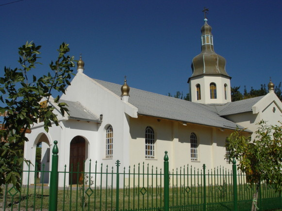Image - Ukrainian church in Bowen, Mendoza, Argentina.