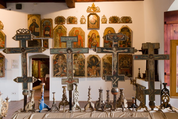 Image - Ukrainian icons in the Sianik (Sanok) Historical Museum.