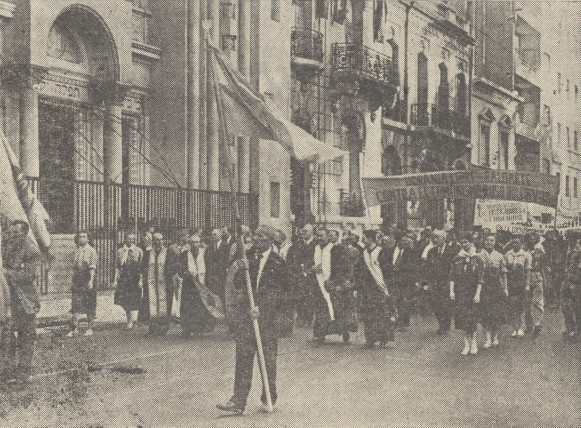 Image - Ukrainian Independence Day commemoration in Buenos Aires (1957).