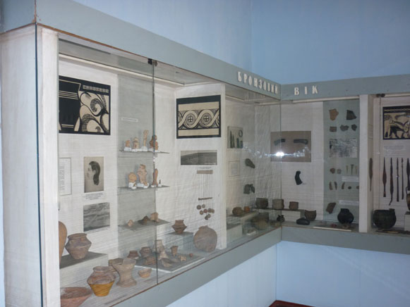 Image - Uman Regional Studies Museum (the Bronze Age exhibit).