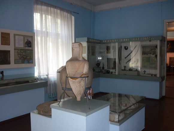 Image - Uman Regional Studies Museum (the medieval and Cossack history exhibit).