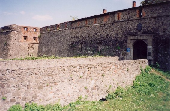 Image - Uzhhorod castle fortifications.