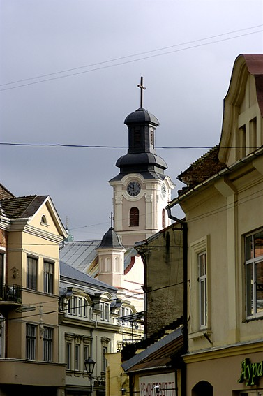Image - Uzhhorod: city center.