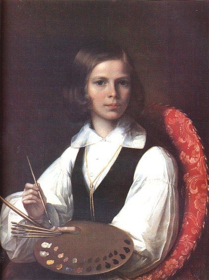 Image - Havrylo Vasko: Portrait of a Youth from the Tomara family (1847).
