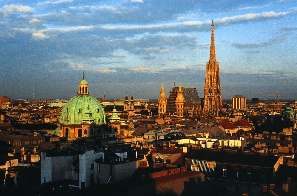 Image - Vienna (panorama of the city center).