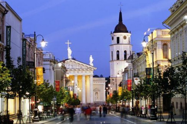 Image - Vilnius (city center).
