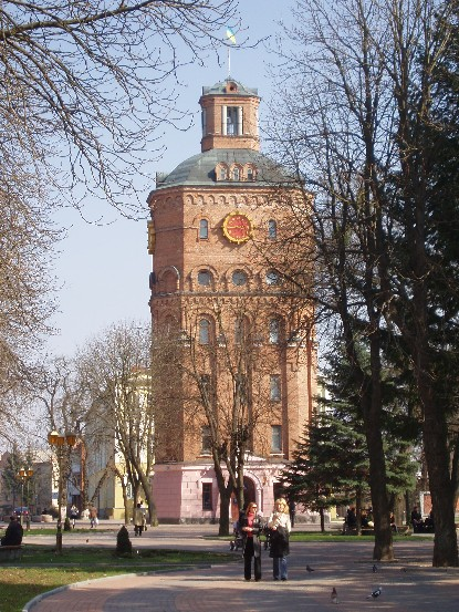 Image -- Vinnytsia: tower in the city centre.