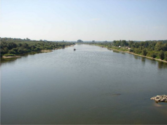Image - The Vistula River in Sandomierz.