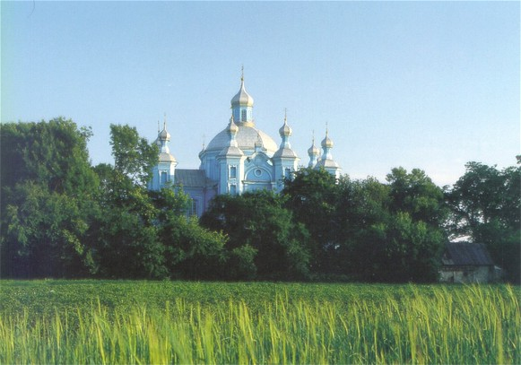 Image - Saint Mary the Protectress Church (1745) in Piddubtsi Volhynia oblast.
