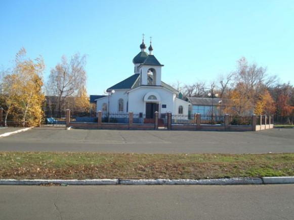 Image - Volnovaha: Transfiguration Church.