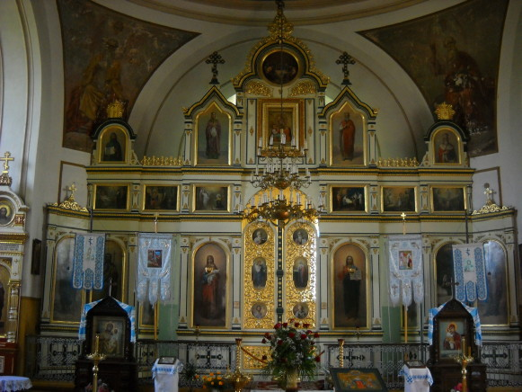 Image - Volodava (Wlodawa): Orthodox Church of the Nativity of the Mother of God (interior).