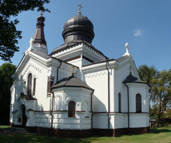 Image -- Volodava (Wlodawa): Orthodox Church of the Nativity of the Mother of God.