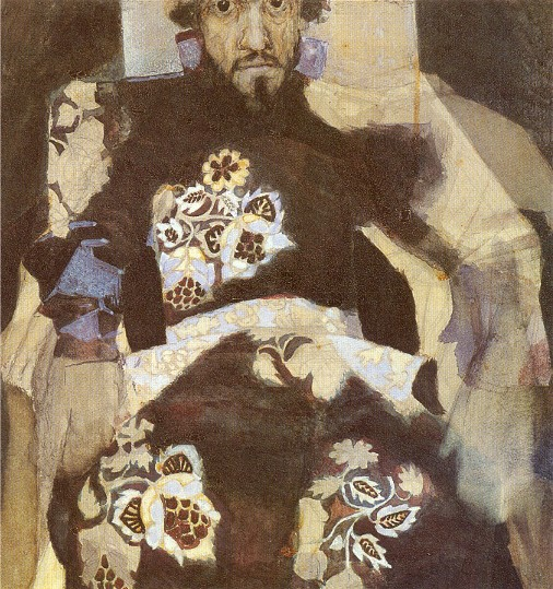 Image - Mikhail Vrubel: Portrait of a Man in a Period Costume (Ivan Tereshchenko) (1886).