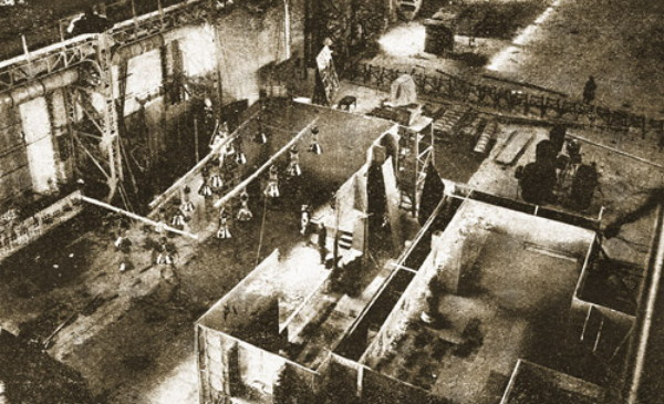 Image - The interior of the VUFKU facility in Kyiv (1930s).