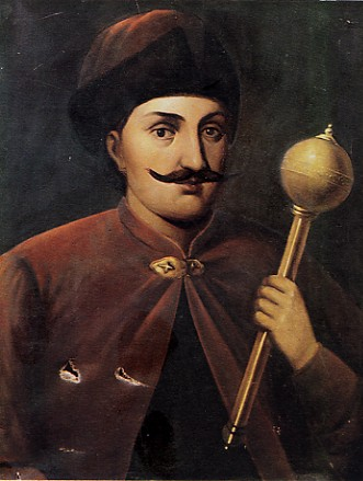 Image -- Portrait of Hetman Ivan Vyhovsky.