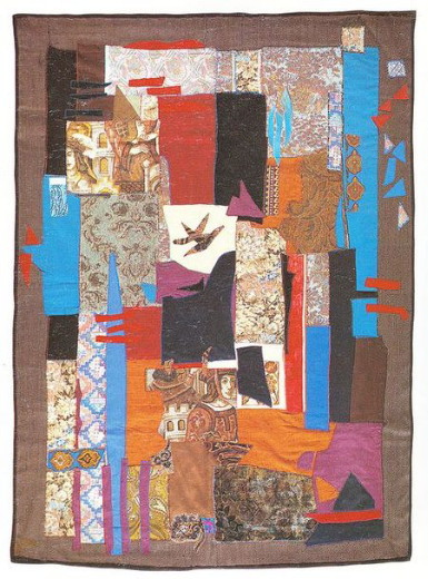 Image - Ivanna Vynnykiv: Abstraction kilim.