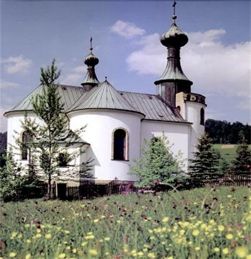 Image - St. Mary's Church in Vysova (Wysowa).