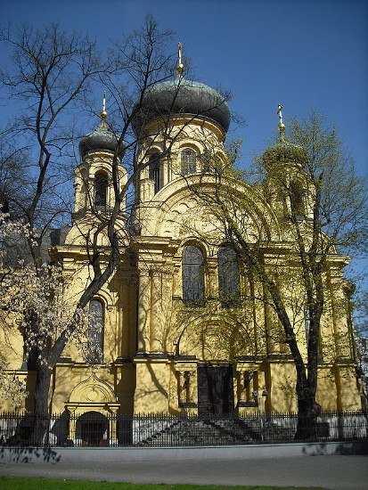 Image - Warsaw: Saint Mary Magdalene Orthodox Church in the Praga district.