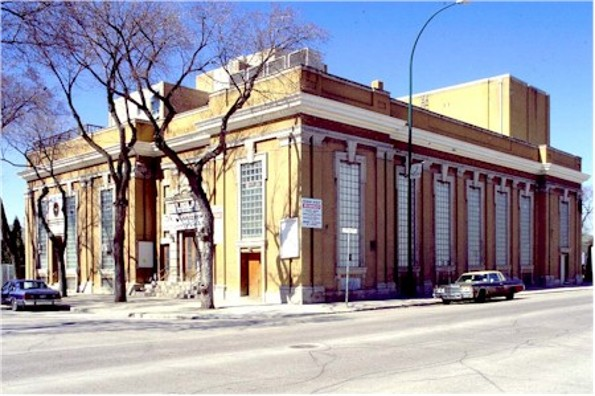 Image - The Ukrainian Labour Temple building in Winnipeg, Manitoba.