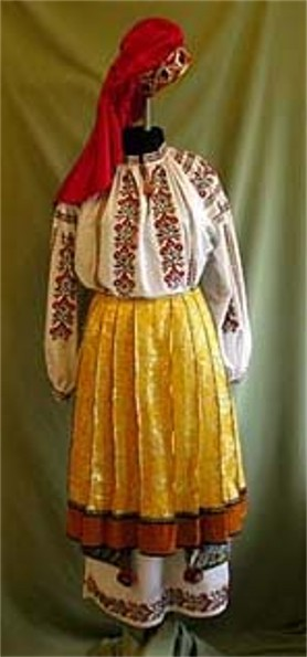 Image - Women's folk dress from Kharkiv region.