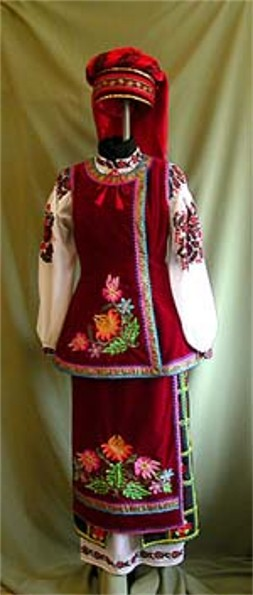 Image - Women's folk dress from Kyiv region.