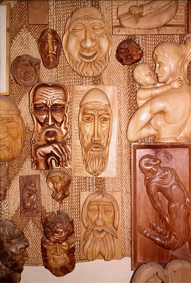 Image - Wood carvings by carver V. Rudenko (Ivano-Frankivsk).