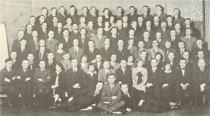 Image - Delegates to the 1927 convention of the Workers Benevolent Association, Winnipeg.