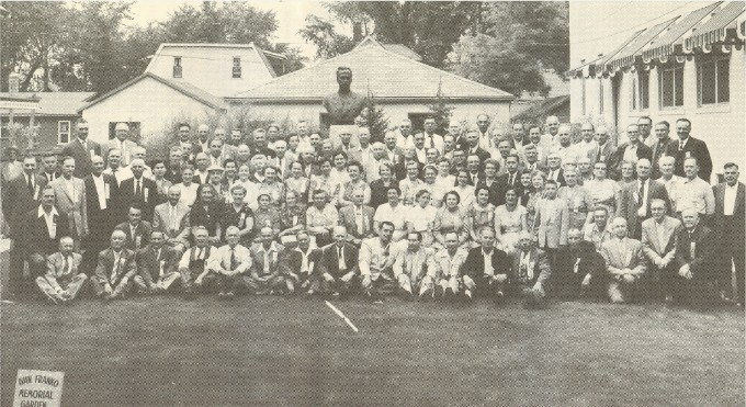 Image - Delegates to the 1957 convention of the Workers Benevolent Association.
