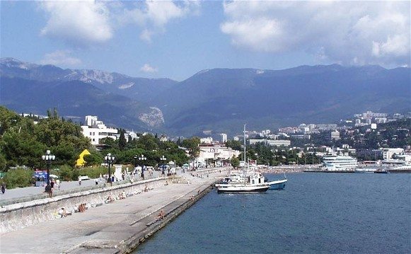 Image - Yalta in the Crimean southern shore.