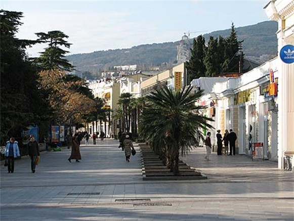Image - Yalta in the Crimea.