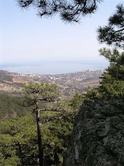 Image - Yalta in the Crimea (view from the mountains).