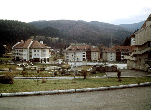 Image - Children's holiday resort in Yamne in the Gorgany Mountains.