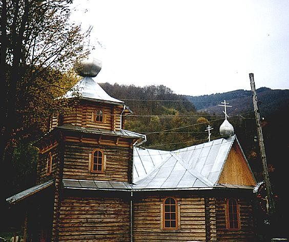 Image - A wooden church in Yasinia, Transcarpathia oblast.