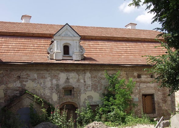 Image - Yelysaveta Hulevychivna's building in Kyiv (end of 15th century).