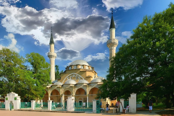 Image - The Yevpatoriia mosque.