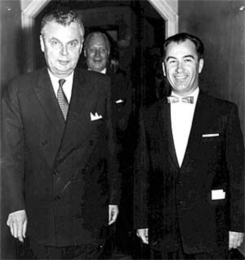 Image - Paul Yuzyk with the Prime Minister of Canada John Diefenbaker (1963).